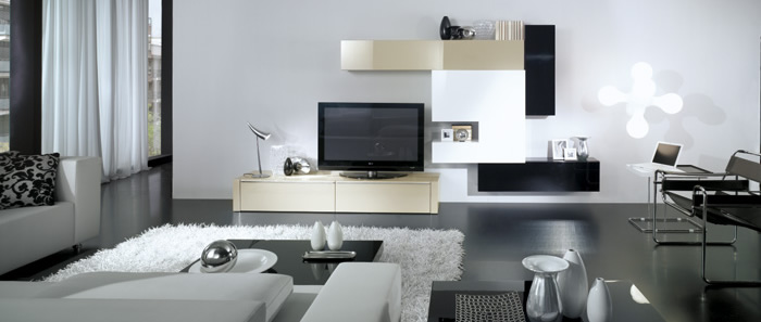 Mueble moderno for Mueble moderno salon