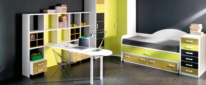 Mueble juvenil for Armario rinconero ikea